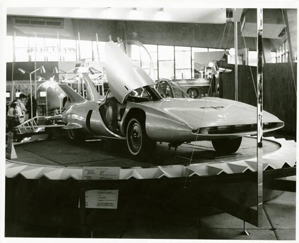 Coliseum; Firebird III. A General Motors exhibit