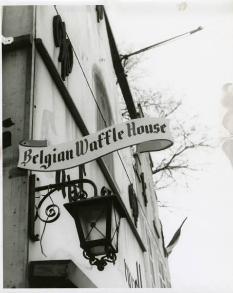 Decorative detail on Belgian Waffle House
