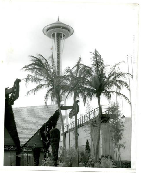 Hawaiian Pavilion and Space Needle
