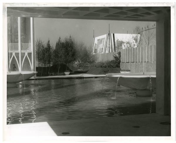 U.S. Science Pavilion showing N.W. corner