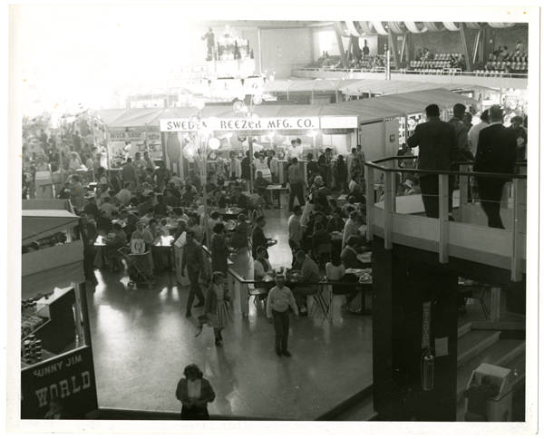 View inside of Food Circus (Armory)