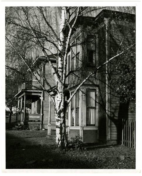 2 old houses N.E. corner of 600 block 3rd Av. N. & Roy Street