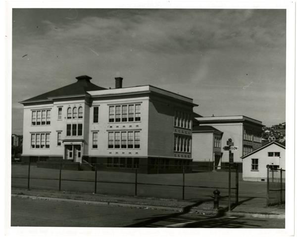 Warren Ave. Public School; View is from Harrison & 2nd Ave. No.