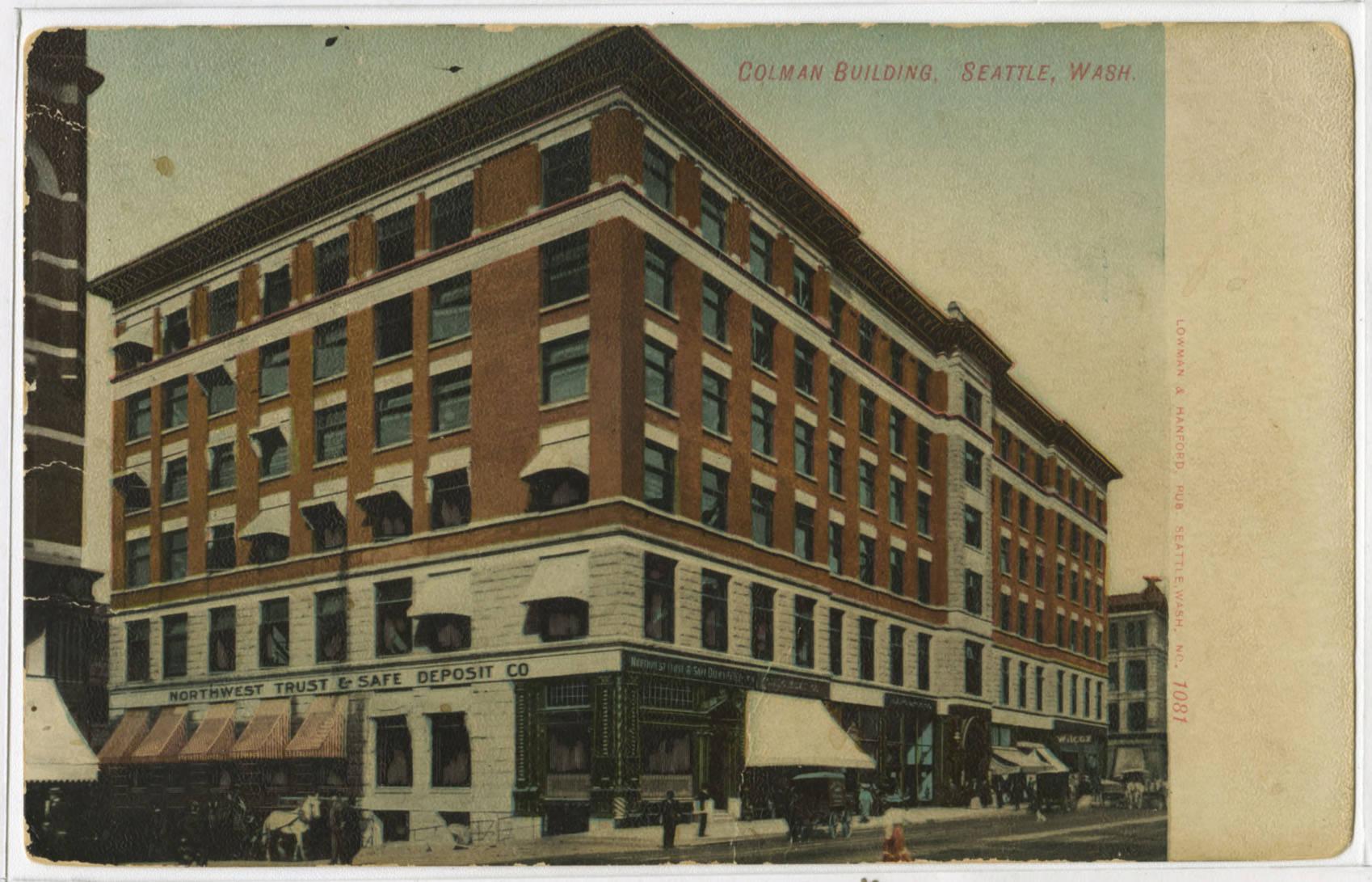 Colman Building, ca. 1907