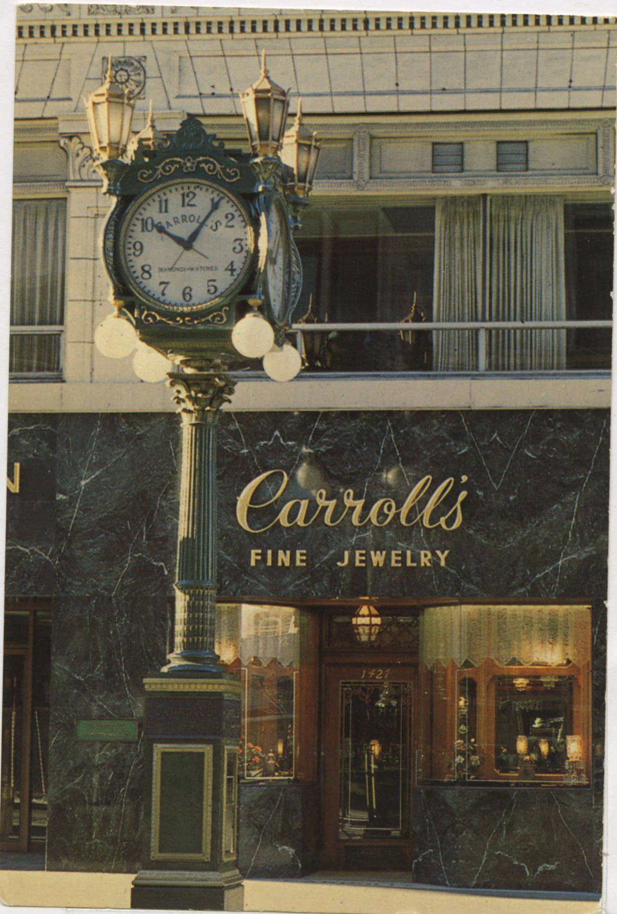 Carroll's Fine Jewelry, ca. 1970