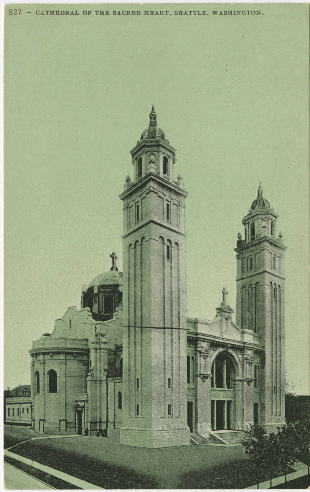St. James Cathedral, ca. 1909