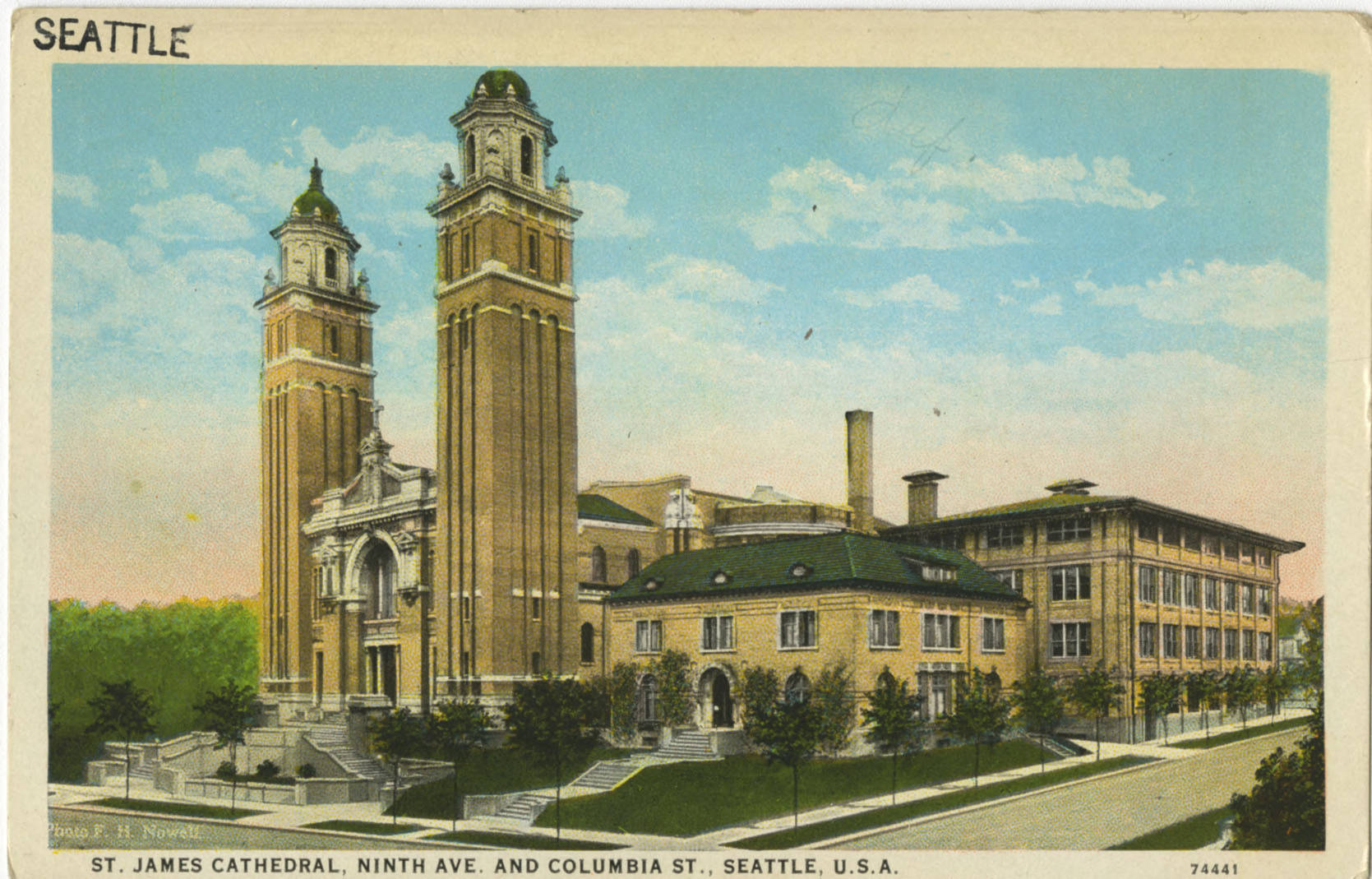 St. James Cathedral, ca. 1915