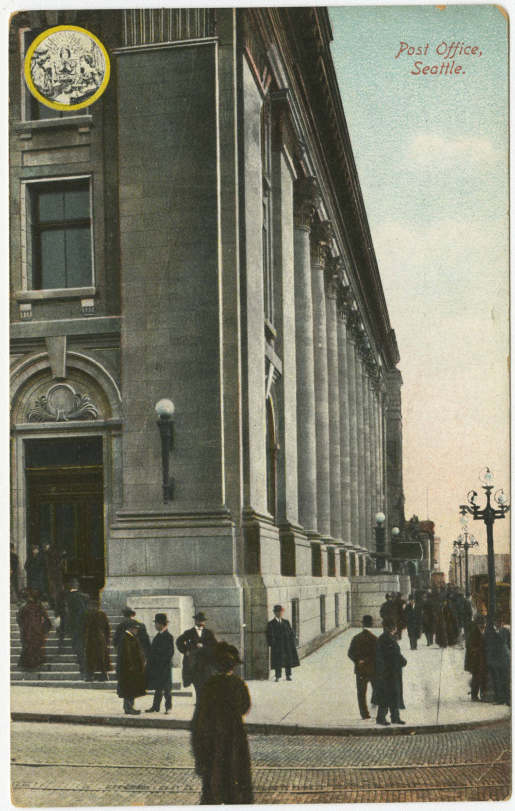 Federal Building at 3rd Ave. and Union St., ca. 1910