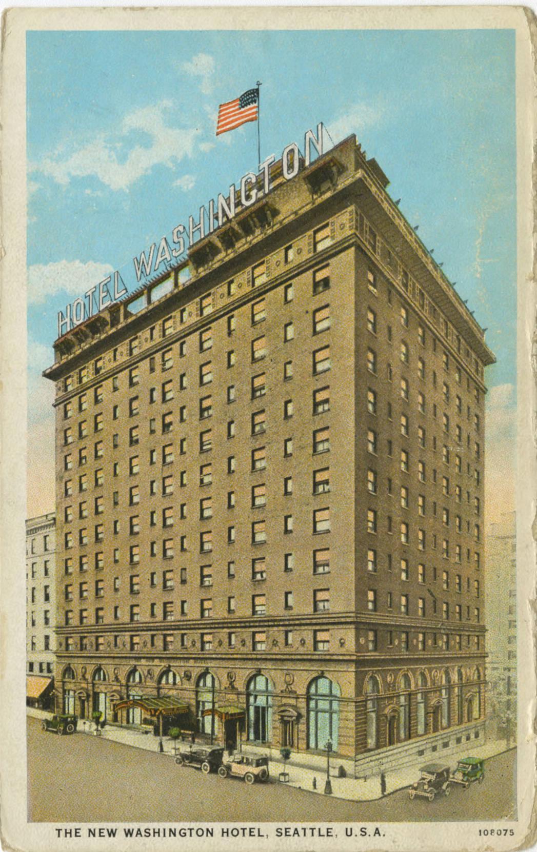 New Washington Hotel, ca. 1930