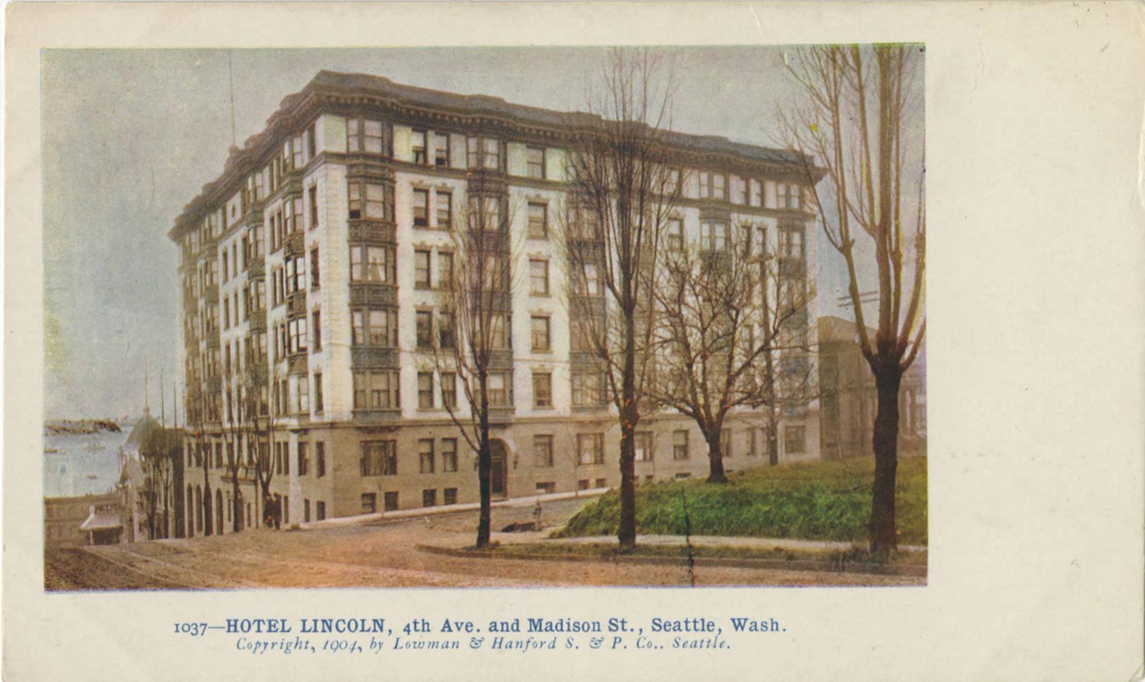 Hotel Lincoln, 1904