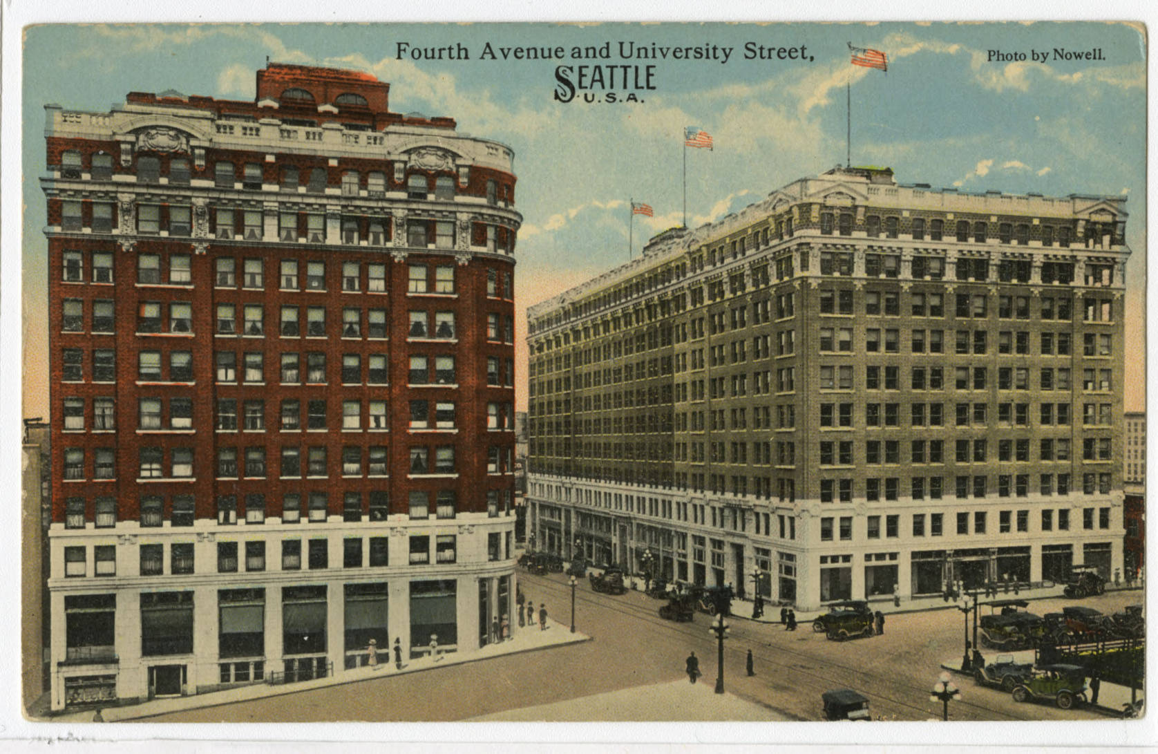 4th Ave. and University St., ca. 1915