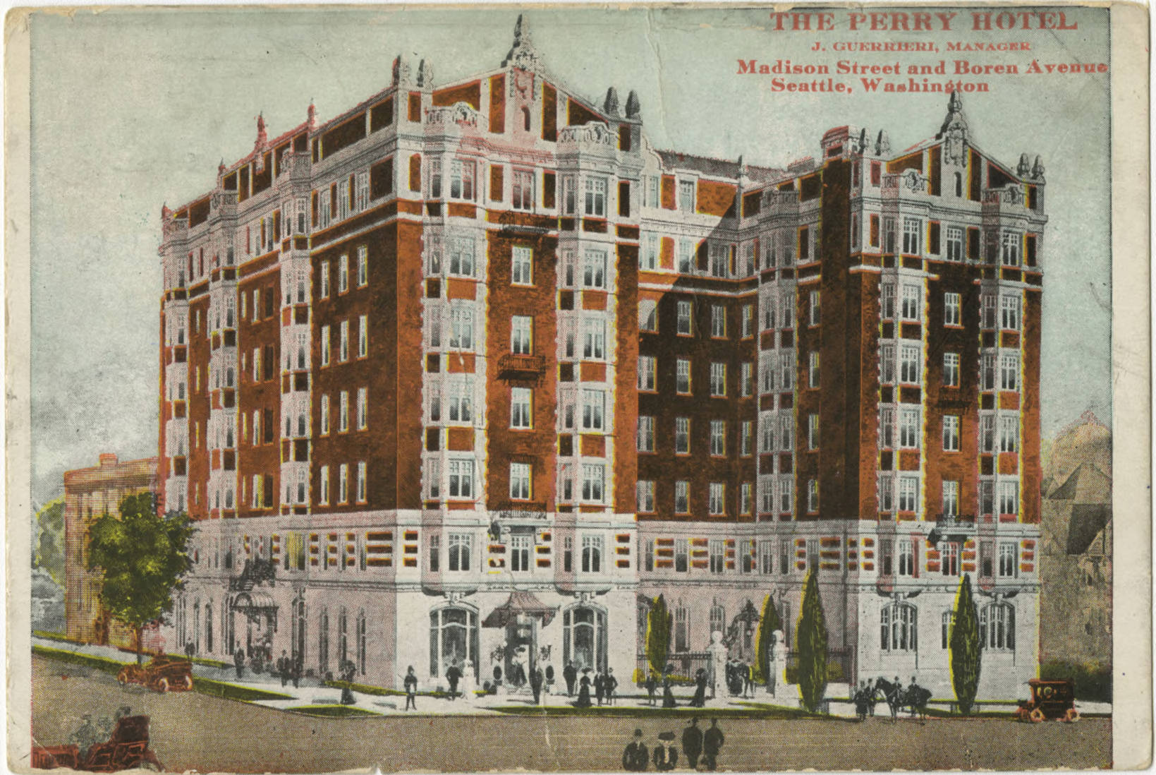 Perry Hotel, ca. 1910