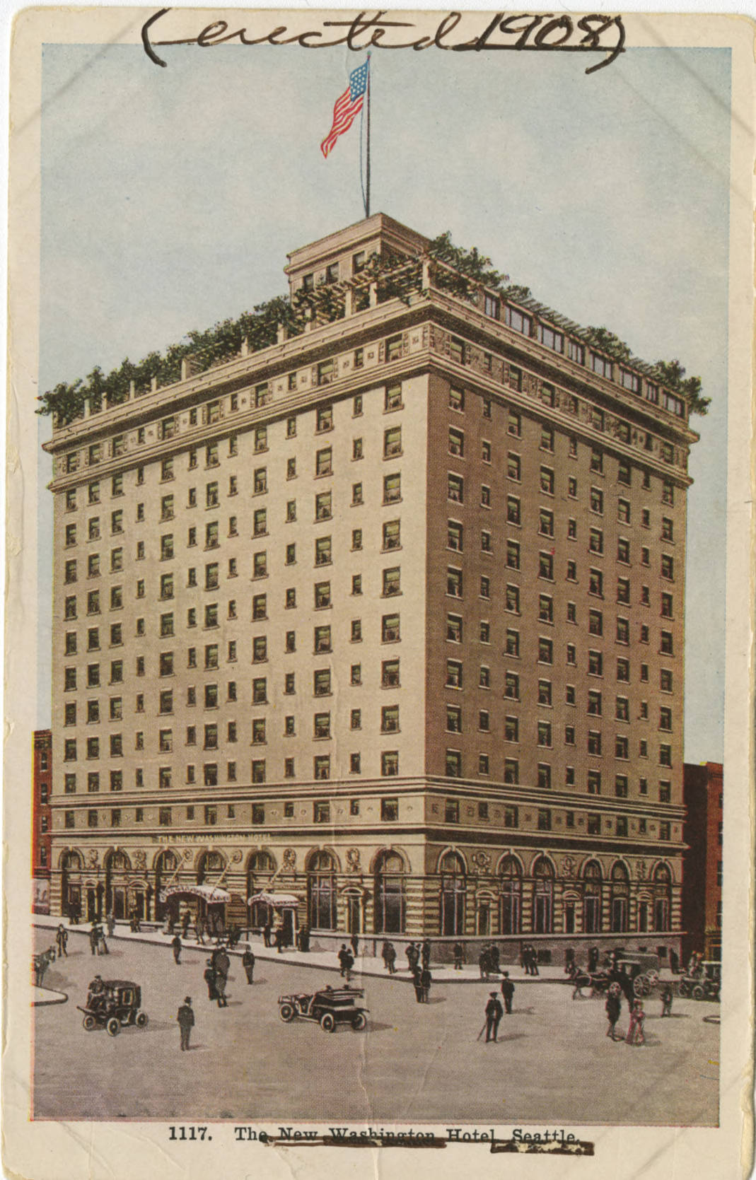 New Washington Hotel, ca. 1909