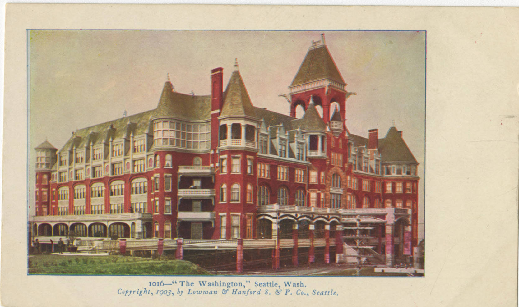 Washington Hotel, 1903