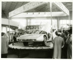 Coliseum; General Motors exhibit
