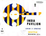 India Pavilion, Century 21 Exposition, Seattle, Washington, U.S.A.