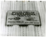 Sign on Silver Dollar display bldg.