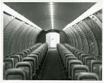 Ford Motor Co. Pavilion; cabin of space craft interior