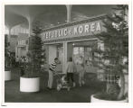 Republic of Korea Pavilion N.W. corner of fairground; View S.W.