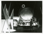 National Aironautical [i.e. Aeronautics and] Space Administration Pavilion interior