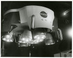 National Aeronautical [i.e. Aeronautics and] Space Administration exhibit