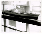 Port of Seattle Pavilion; Model of U.S. Savannah; (in Seattle visit to fair)