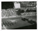 Canadian tatoo [i.e. tattoo] in stadium; View N.E. of Scottish units