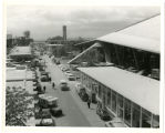 View south on 2nd Av. North; Swedish Pavilion lower right; Coliseum above Last day of confusion...