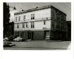 Apt. & store bldg. at S.W. corner of John Str. & Nob Hill Ave. No. View is S.W. Nob Hill...