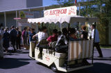 Electricab taxi and tours on fairgrounds