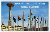 Plaza of States, Space Needle, Seattle, Washington