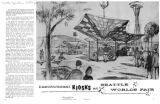 Institutional Kiosks at Seattle World's Fair