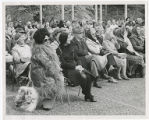 10th anniversary of World's Fair 1962; Lady left on front row is Gracie Hansen who was queen on...