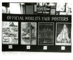View of World's Fair posters