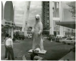 Polar bear shot in Alaska by Arthur R. Dubs of Medford, Ore