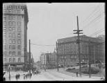 View west from 4th Ave. and Yesler Way, ca. 1912