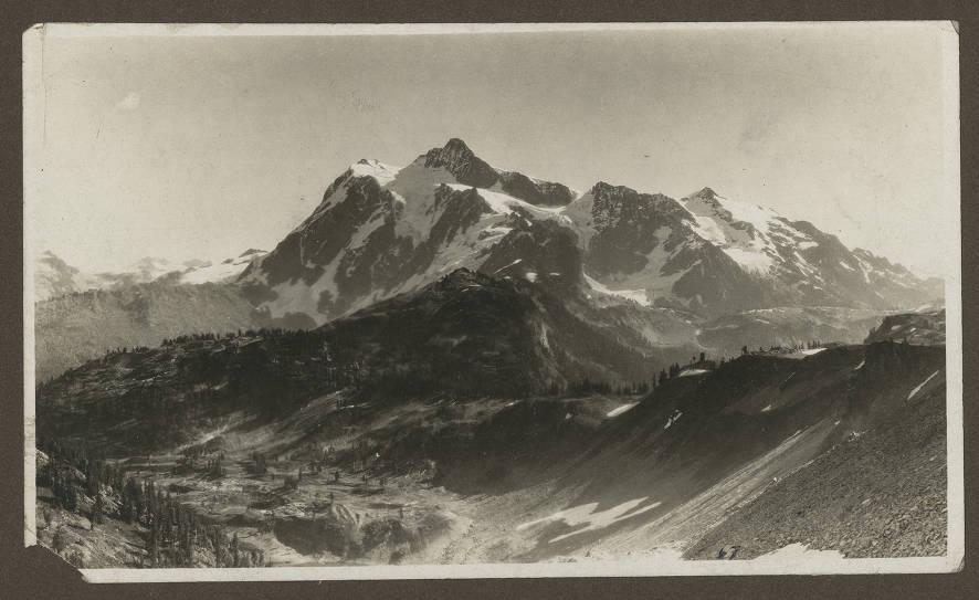 Austin Pass on Mt. Baker, ca. 1930