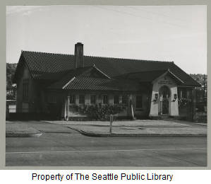 Seattle Public Library, Fremont branch, June 1955