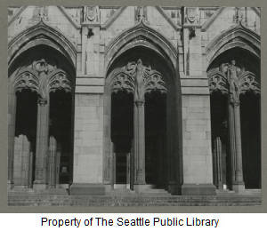 Henry Suzzallo memorial library, ca. 1950