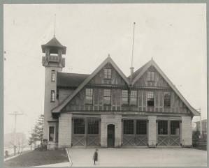 Fire station, Engine House No. 3, ca. 1910